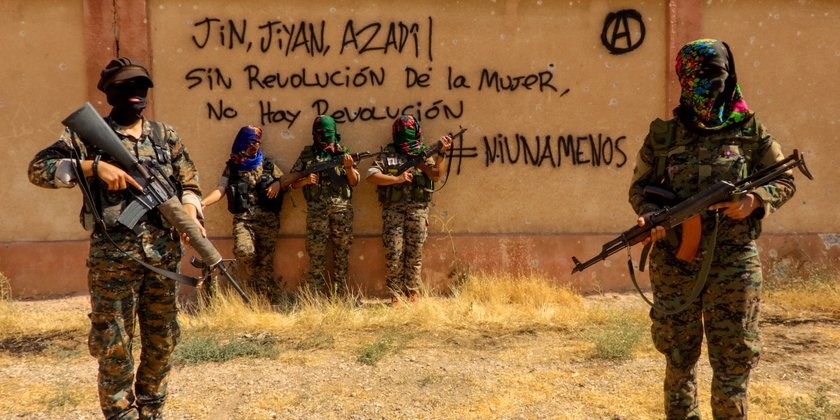 Internationalismus Rojava
